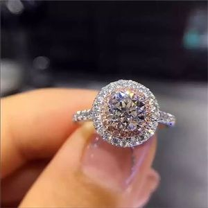 S925 Silver Wedding Ring For Women Charms Princess